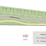 Site Plan for The Villas at Obsidian - Mammoth Lakes, CA