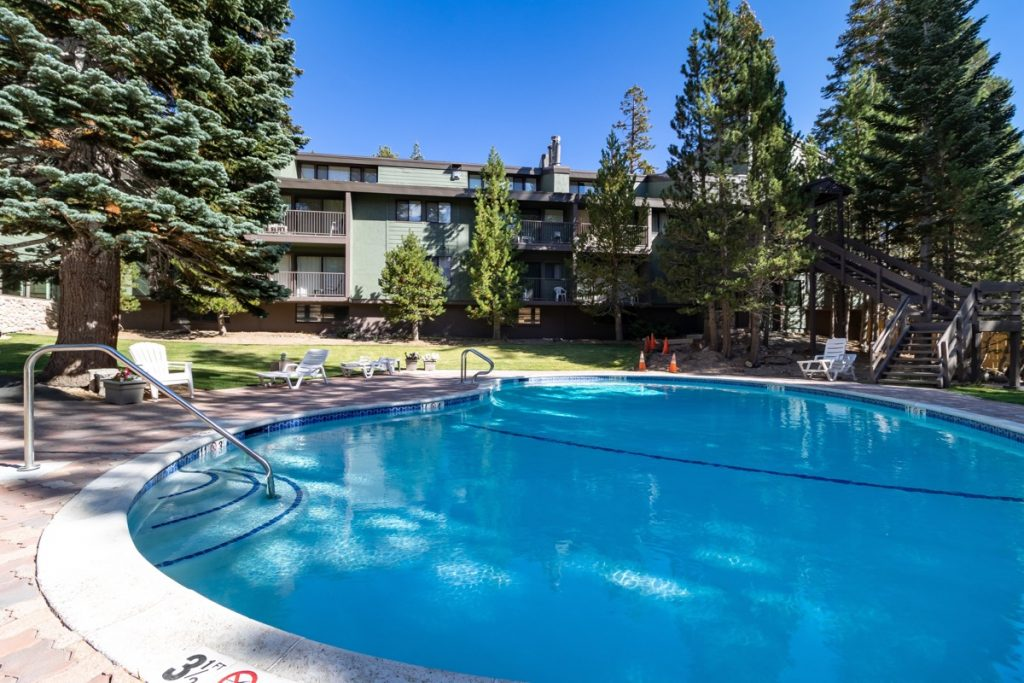 St Anton Swimming Pool - Mammoth Lakes, CA