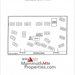 Chateau Sans Nom Complex Map - Mammoth Lakes