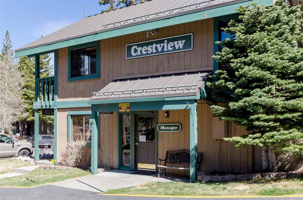 Crestview Condo Complex Managers Office - Mammoth Lakes