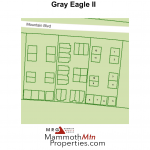 Gray Eagle Complex Map - Mammoth Lakes