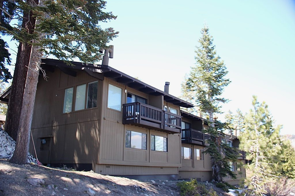 Back of Mammoth Point Condos - Mammoth Lakes