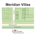 Meridian Villas Condo Complex Map